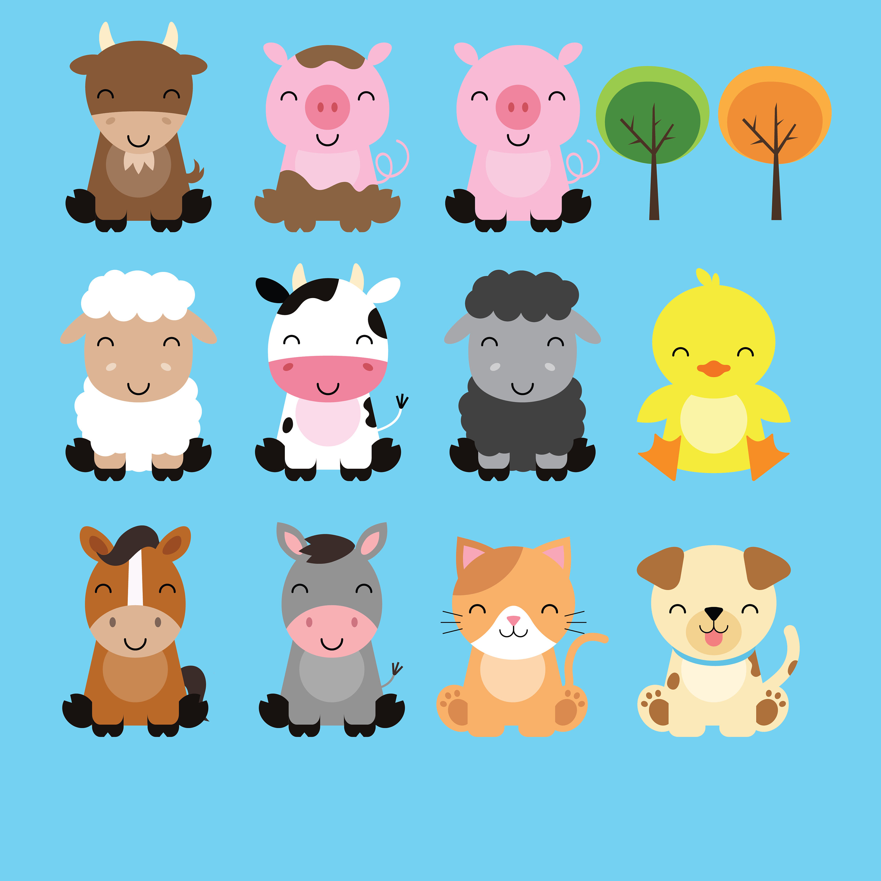 The best free Barnyard clipart images. Download from 68 free.