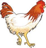 Barnyard Fowl Clip Art.