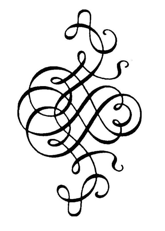 Baroque Swirls.