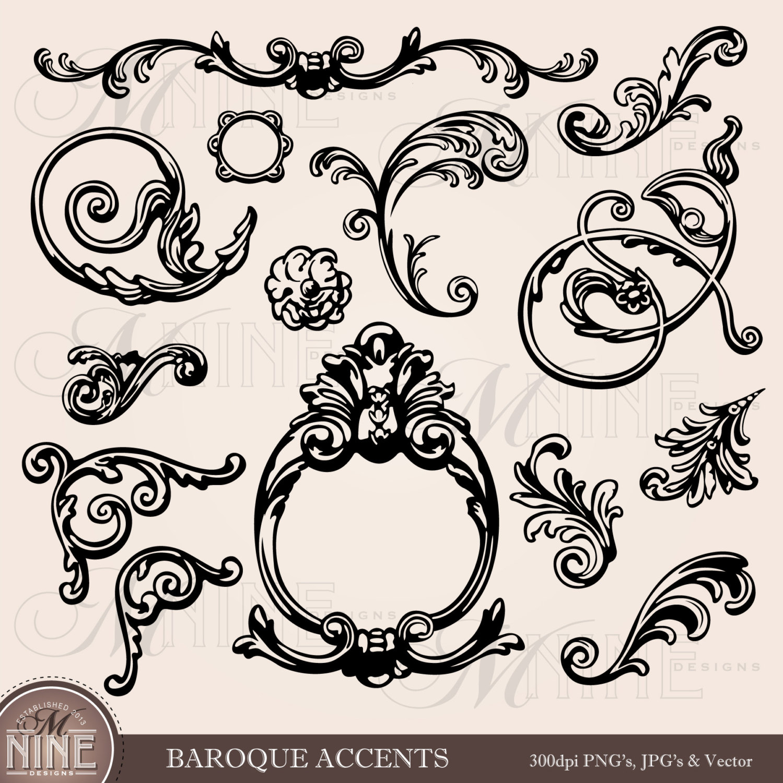 Clipart baroque.