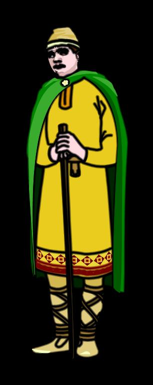 Medieval baron clipart.