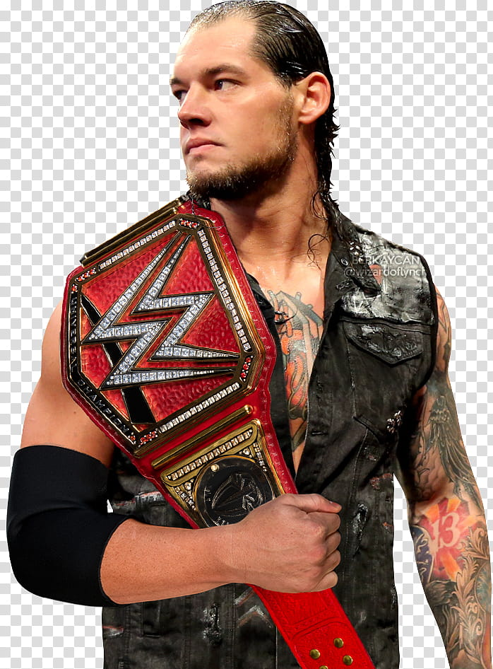 Baron Corbin WWE Universal Champion transparent background.
