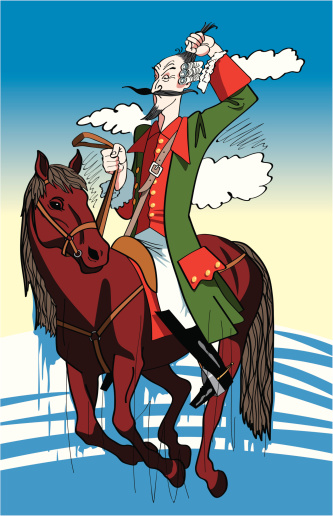 Baron Munchausen Clip Art, Vector Images & Illustrations.