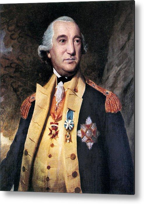 Baron Friedrich Von Steuben Metal Print.