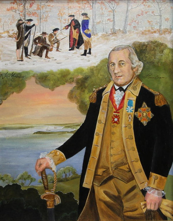 Baron Von Steuben Art Print.