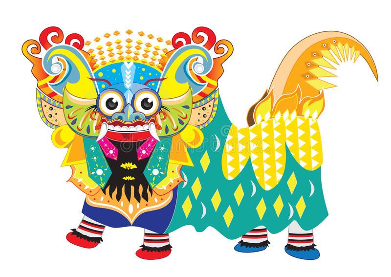 Bali Barong Stock Illustrations.