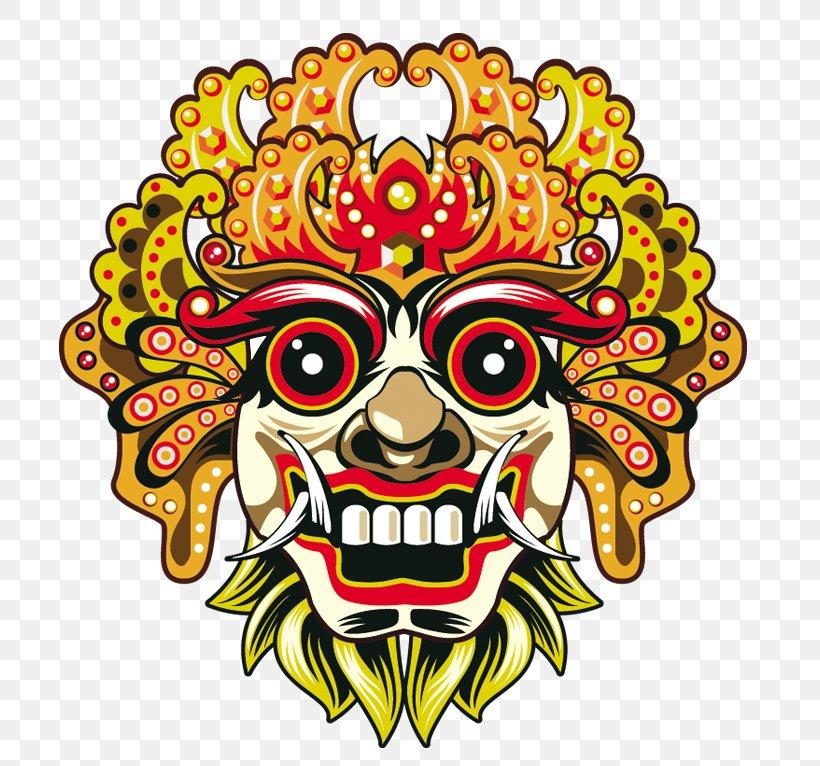 Bali Barong Mask Euclidean Vector, PNG, 737x766px, Bali, Art.