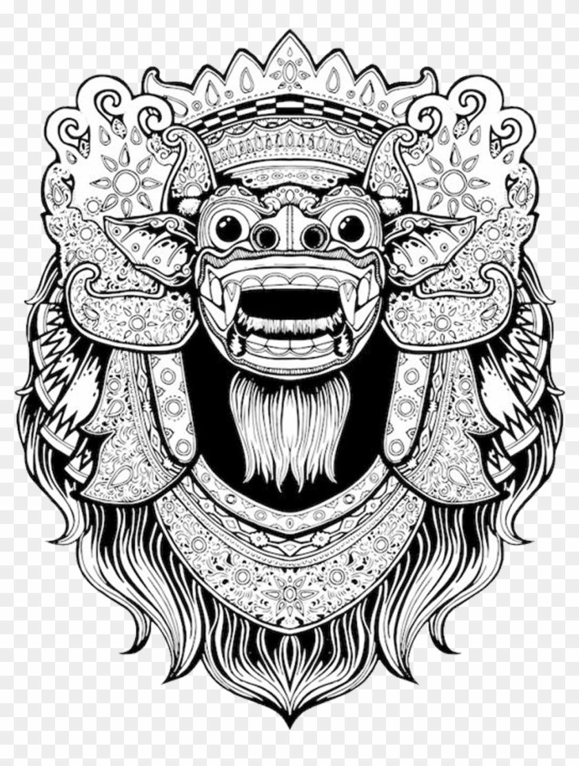Balinese Art Bali Barong T.
