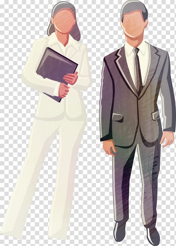 Commerce, Business People transparent background PNG clipart.