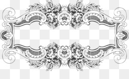 Baroque Borders PNG and Baroque Borders Transparent Clipart.