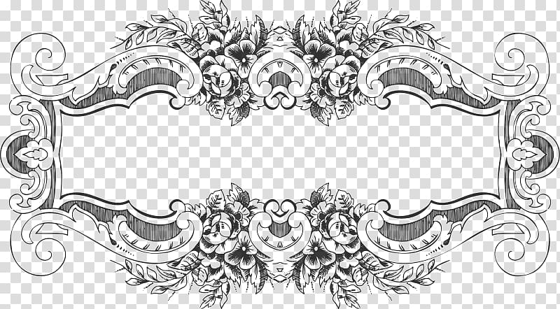 Baroque transparent background PNG cliparts free download.
