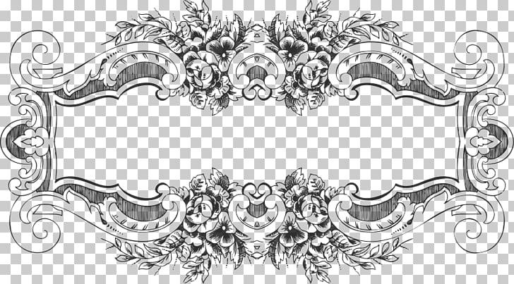 Frames , baroque borders PNG clipart.