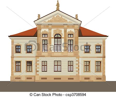 EPS Vector of Chopin Museum in Warsaw.