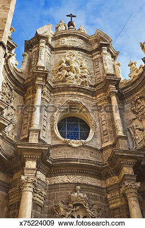 Stock Photograph of Baroque architecture in Spain. x75224009.