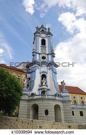 Stock Photo of Baroque Church k10339594.
