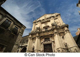 Stock Photographs of Baroque city Catania, Sicily csp9575489.