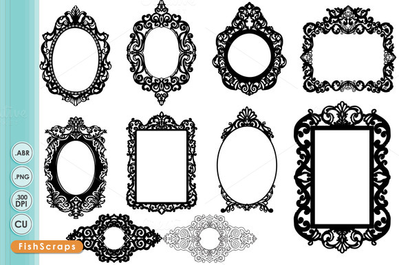 Ornate Baroque Frame.