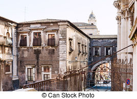 Stock Photography of Baroque city Catania, Sicily csp9575540.