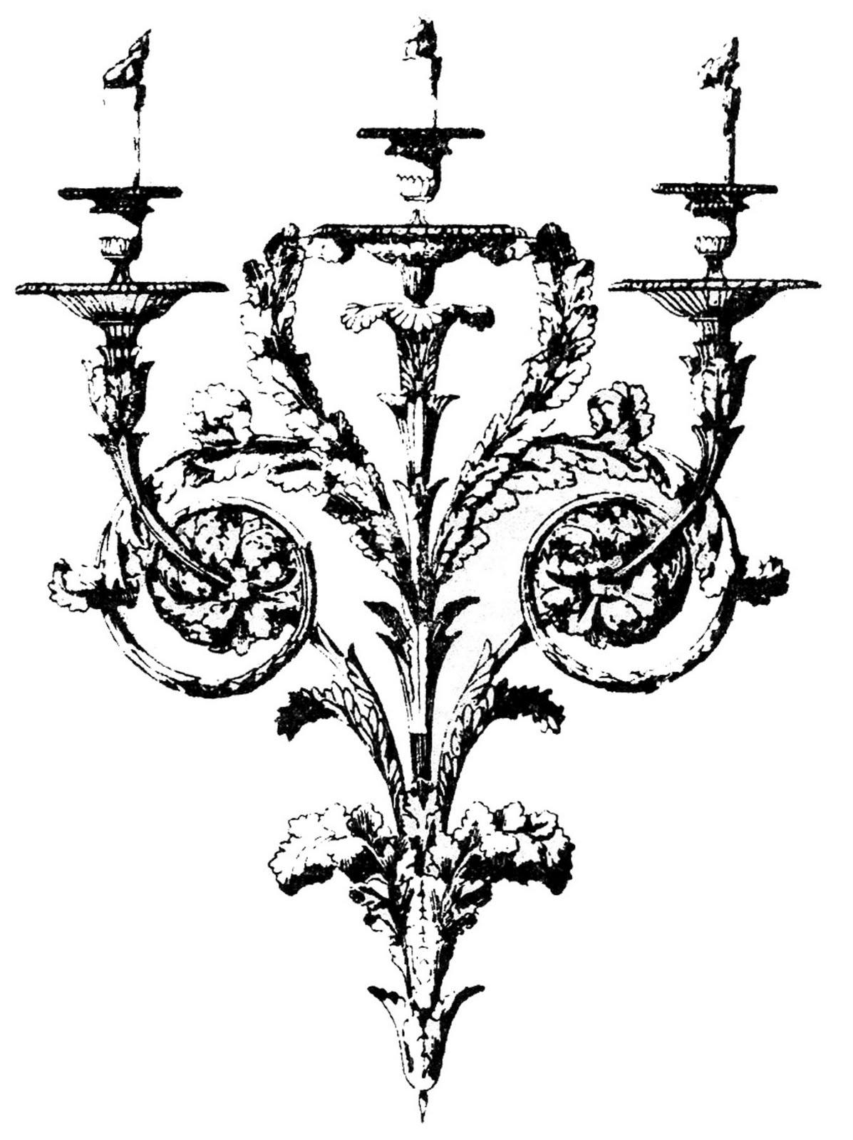 Baroque clipart.