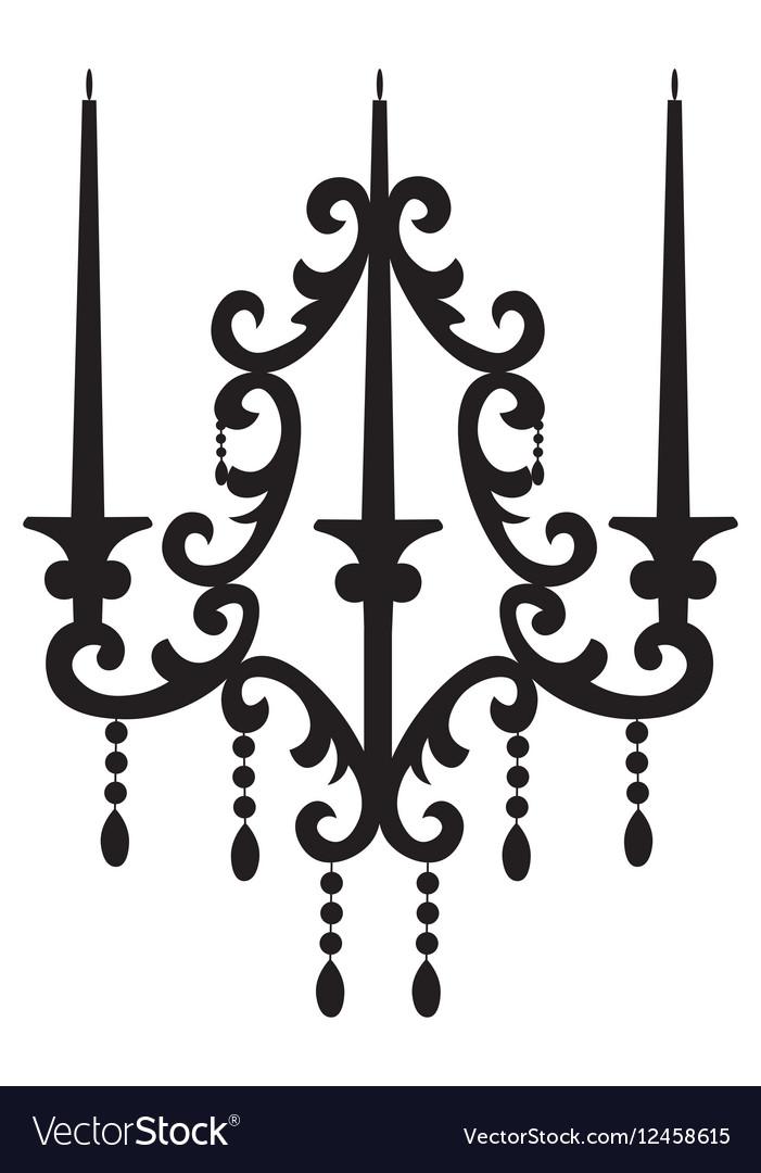 Baroque Elegant Rich Wall lamp.