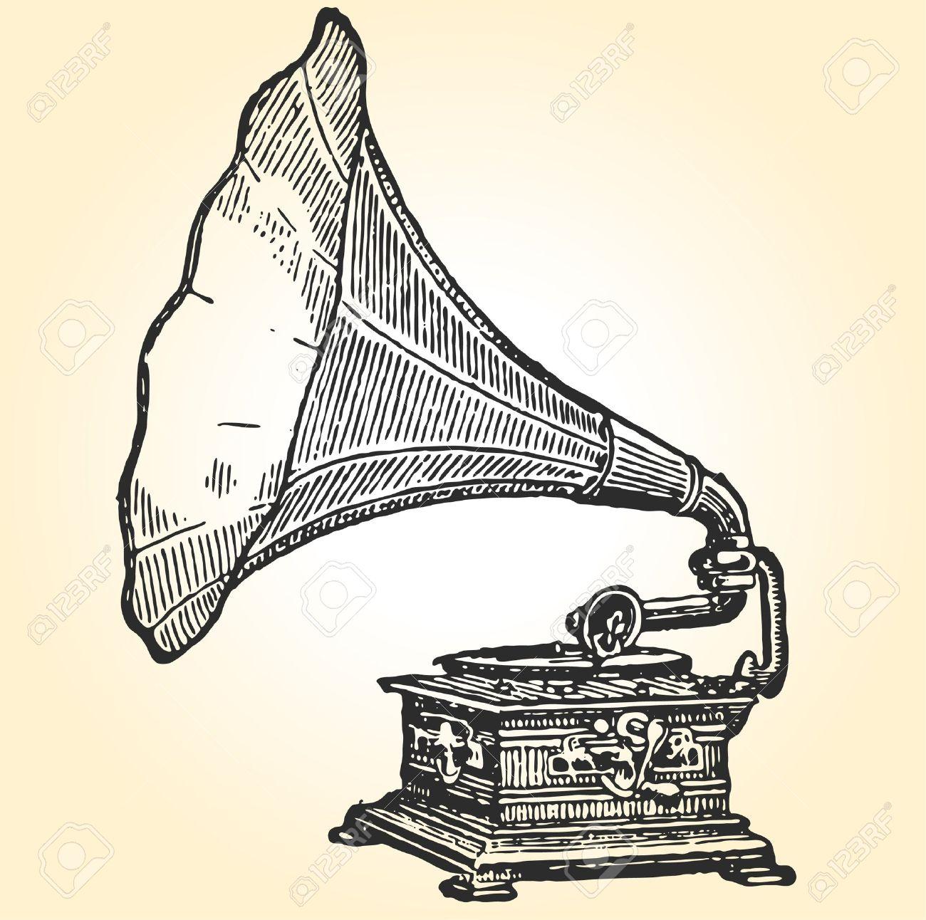 Baroque music clipart.