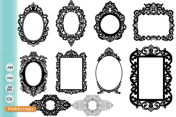 Check out Ornate Baroque Frame.
