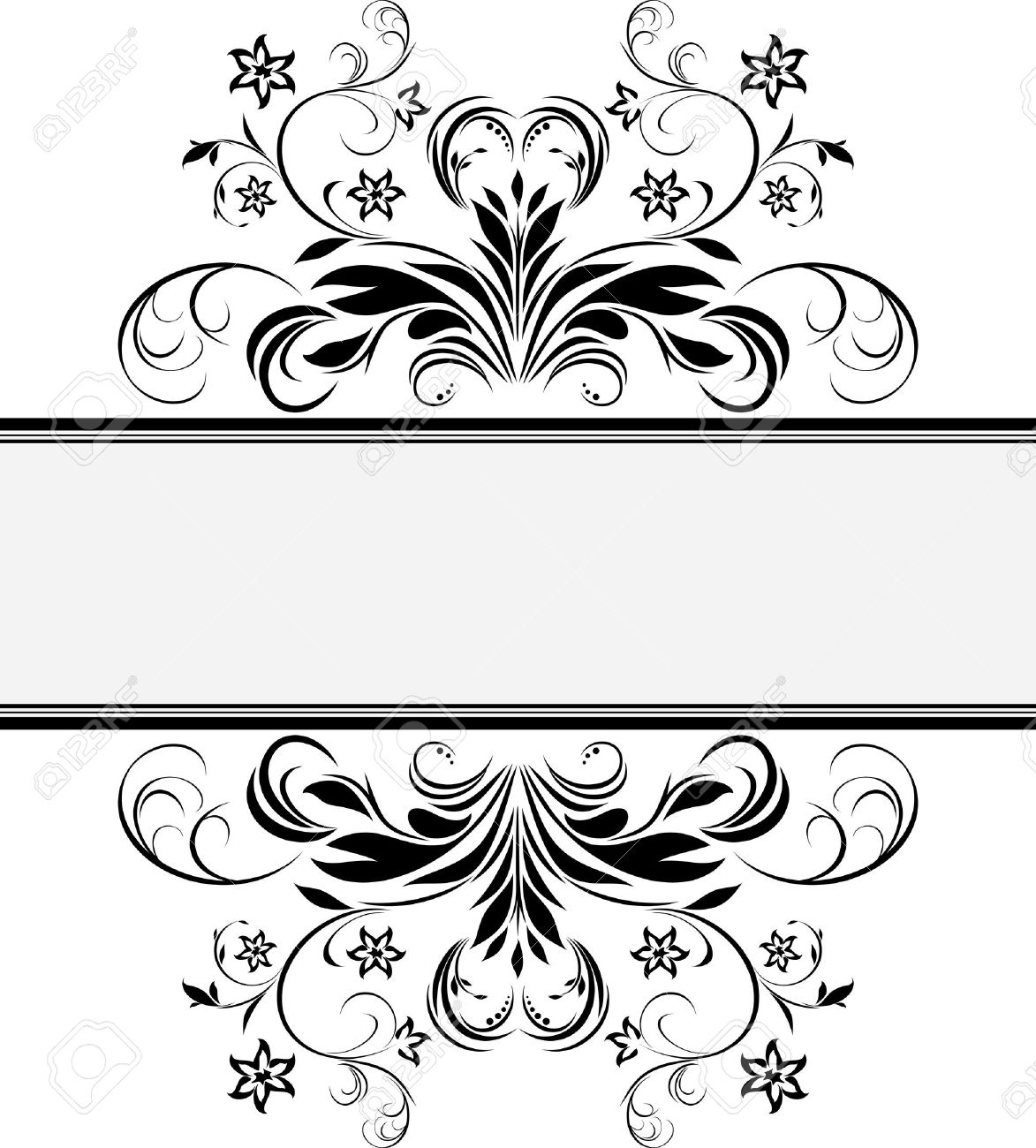 Decorative Retro Frame For Design Royalty Free Cliparts, Vectors.