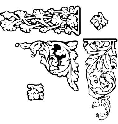 Baroque clipart vector by AZZ.