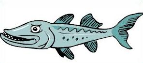 Free Barracuda Clipart.