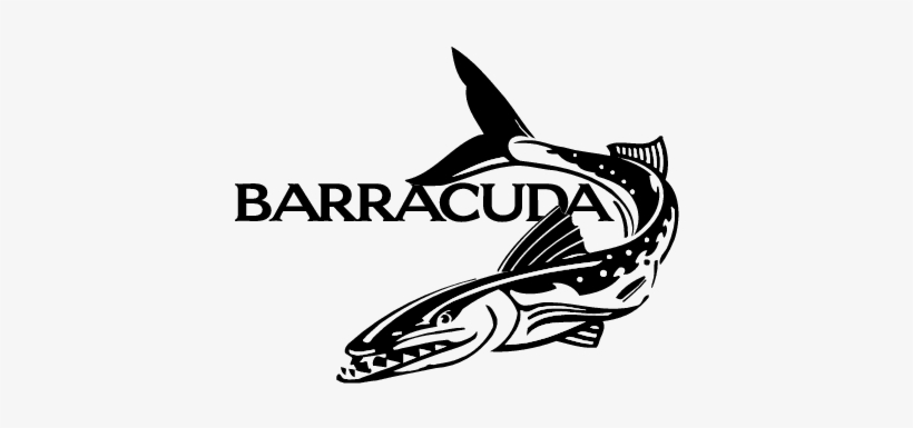 Barracuda Clipart Black And White.