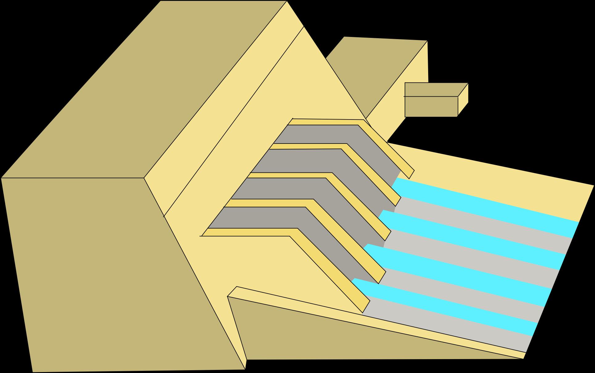Clipart of dam.