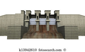 Barrages Illustrations and Clipart. 31 barrages royalty free.
