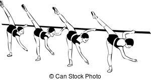 Ballet barre Illustrations and Stock Art. 23 Ballet barre.