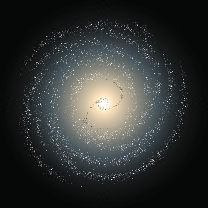 Spiral Galaxy Clip Art, Vector Images & Illustrations.