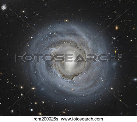 Stock Images of NGC 4921, a barred spiral galaxy in the Coma.