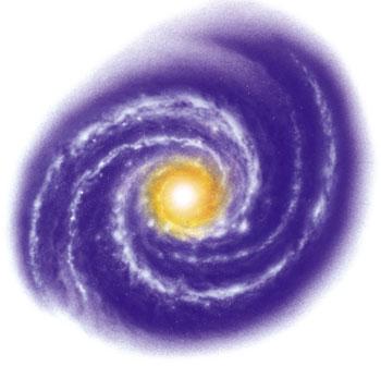 Galaxies clipart #1
