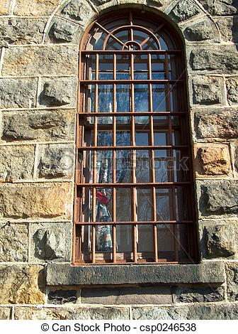 Pictures of Barred window.