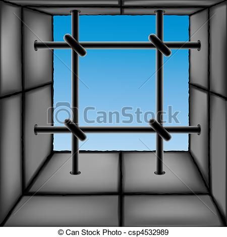EPS Vectors of Barred window as a design element. Each object is.