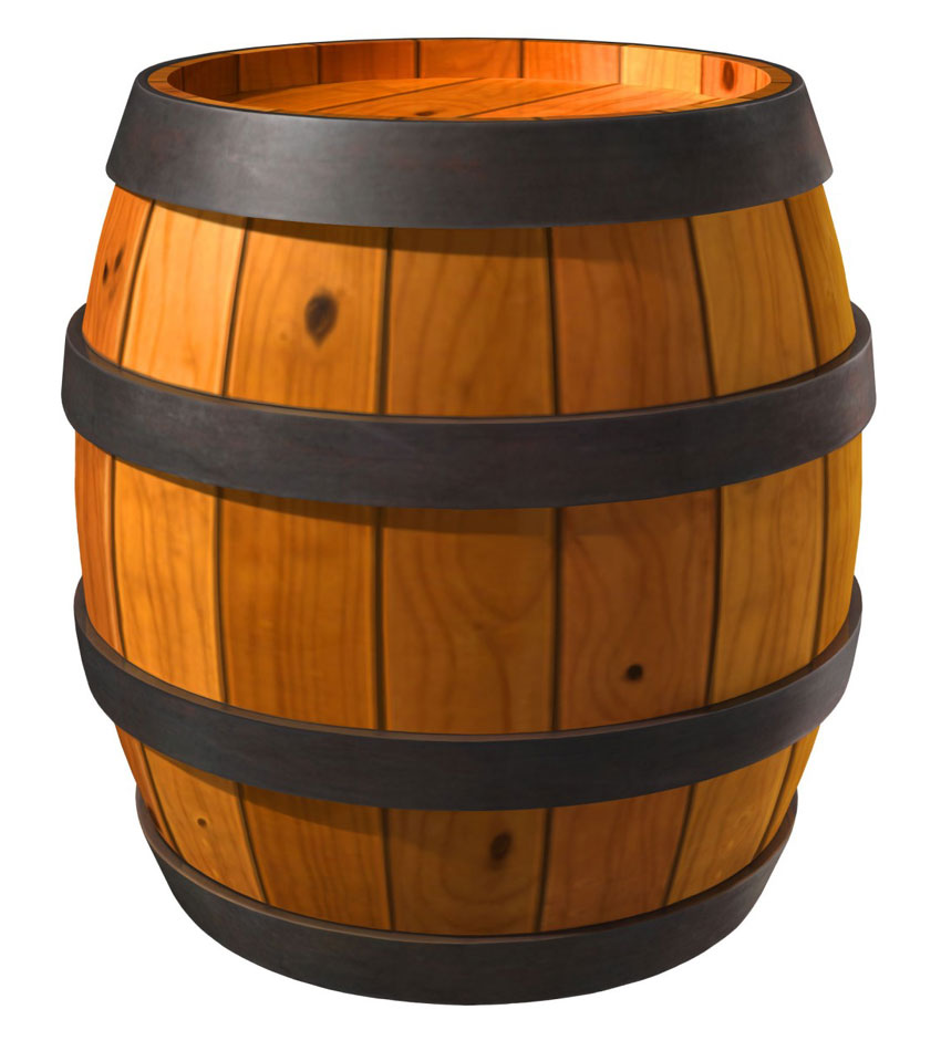 Barrel Clipart.