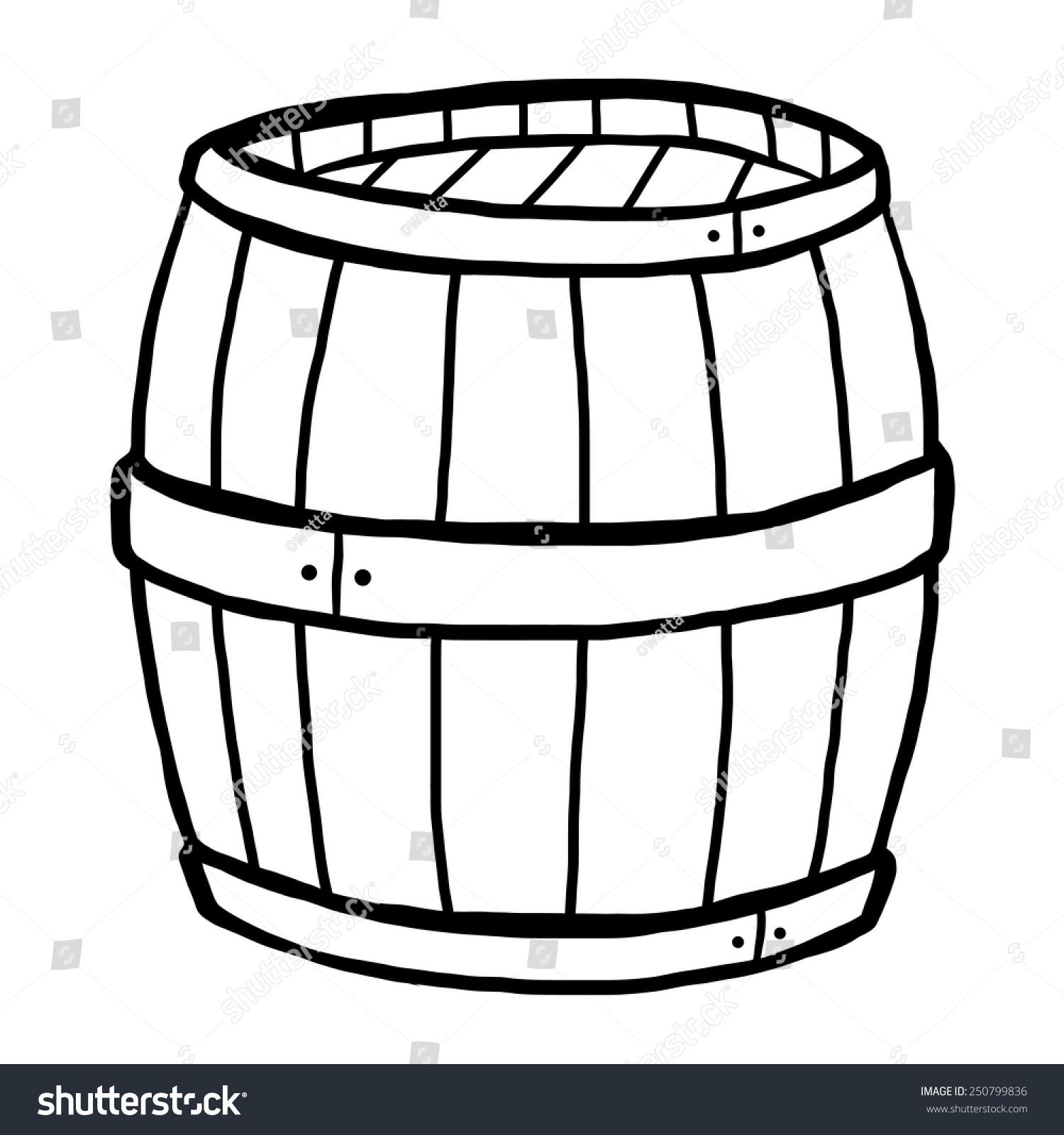 532 Barrel free clipart.