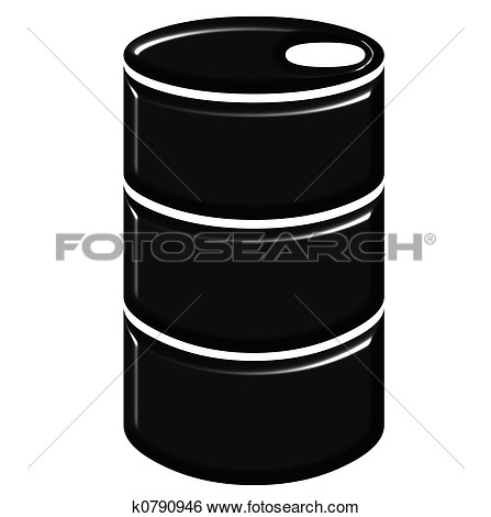 Oil Barrel Clipart.
