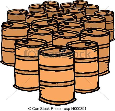 Oil Drum Clipart.