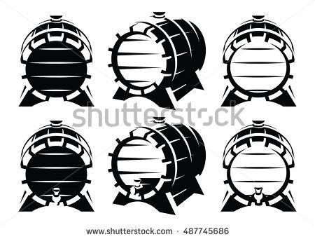 Whisky Barrel Stock Photos, Royalty.