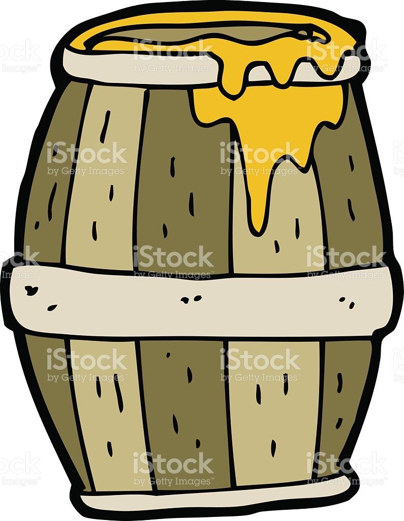 Cartoon Barrel stock vector art 485431805.