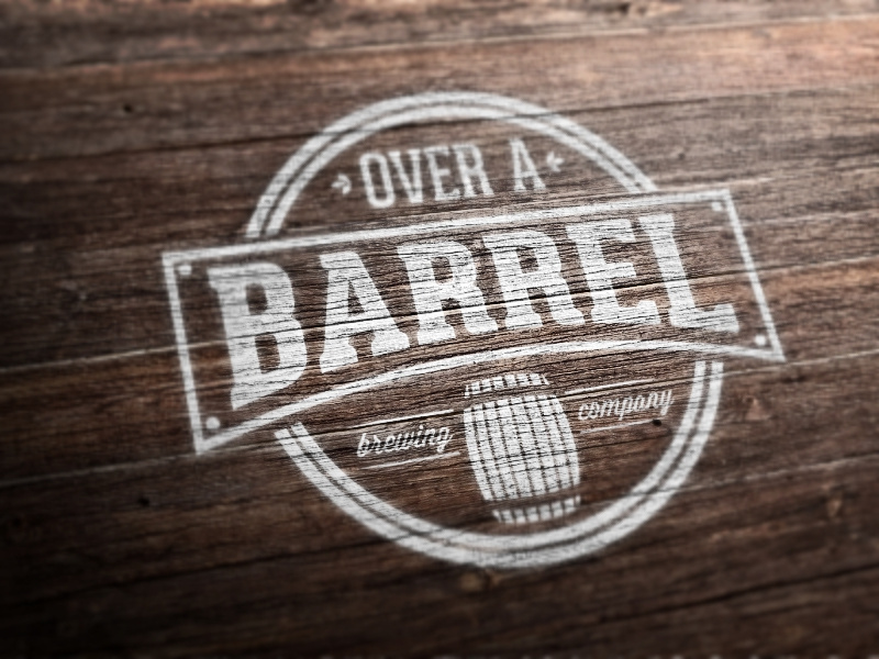 Over A Barrel Logo by Kristian Grljevic on Dribbble.