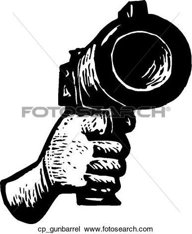 Clipart of gun barrel cp_gunbarrel.