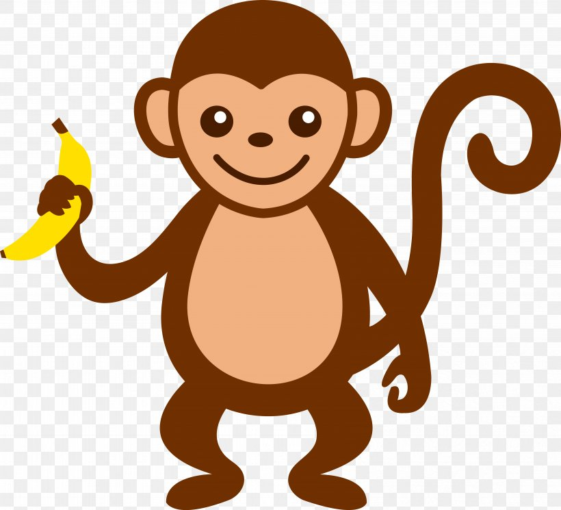 Baby Monkeys Brown Spider Monkey Primate Clip Art, PNG.