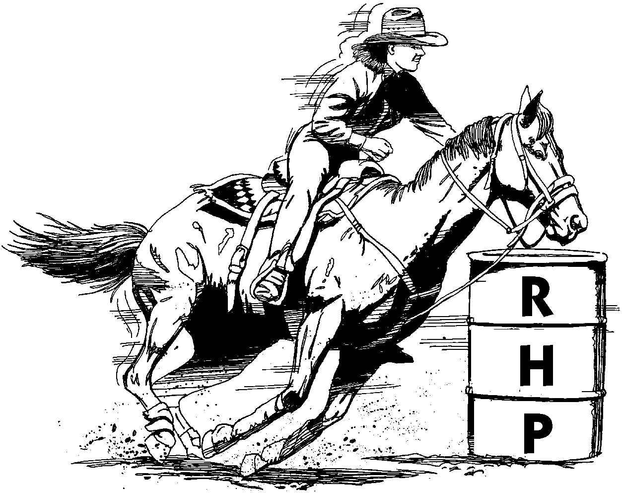 Barrel racer clipart 7 » Clipart Station.