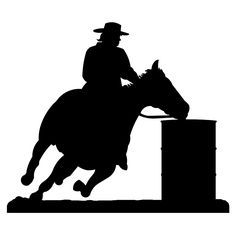 barrel racing!.