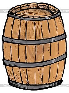 The barrel clipart #4